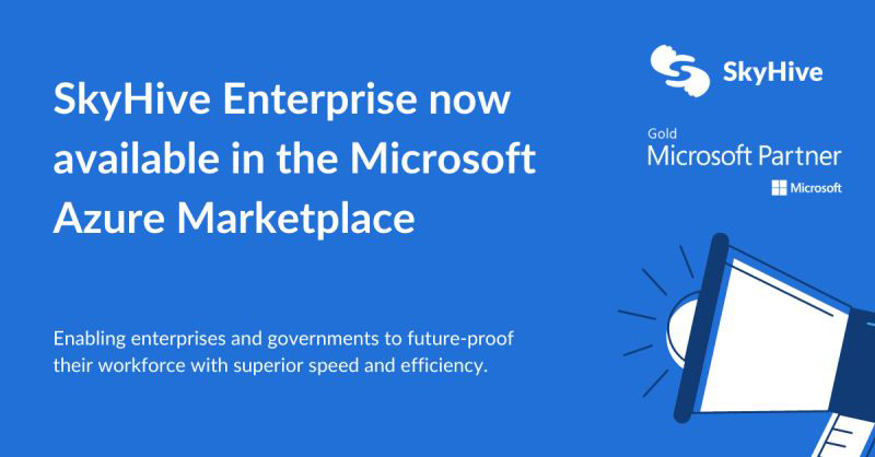 SkyHive Enterprise Now Available in the Microsoft Azure Marketplace